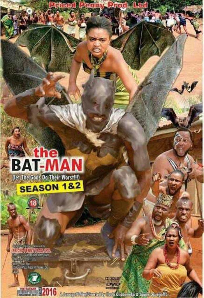 Con todos ustedes llega... ¡El Batman nigeriano!