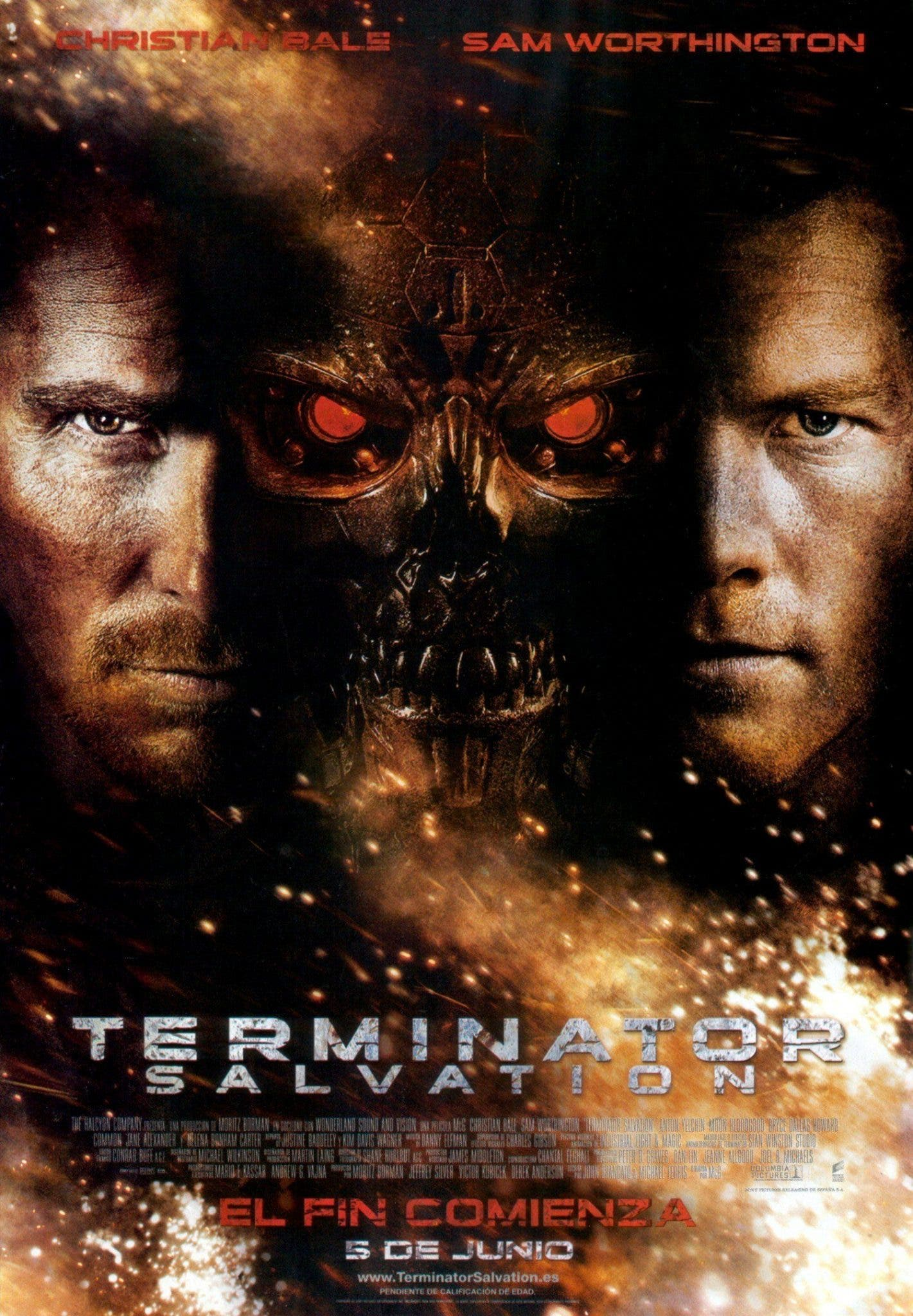 Poster de 'Terminator Salvation'
