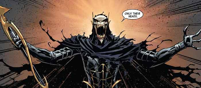 Corvus Glaive (Vengadores: Infinity War)