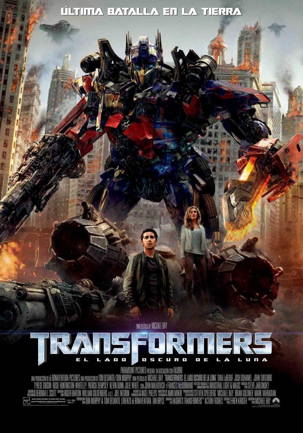 Poster de Transformers : El lado oscuro de la Luna