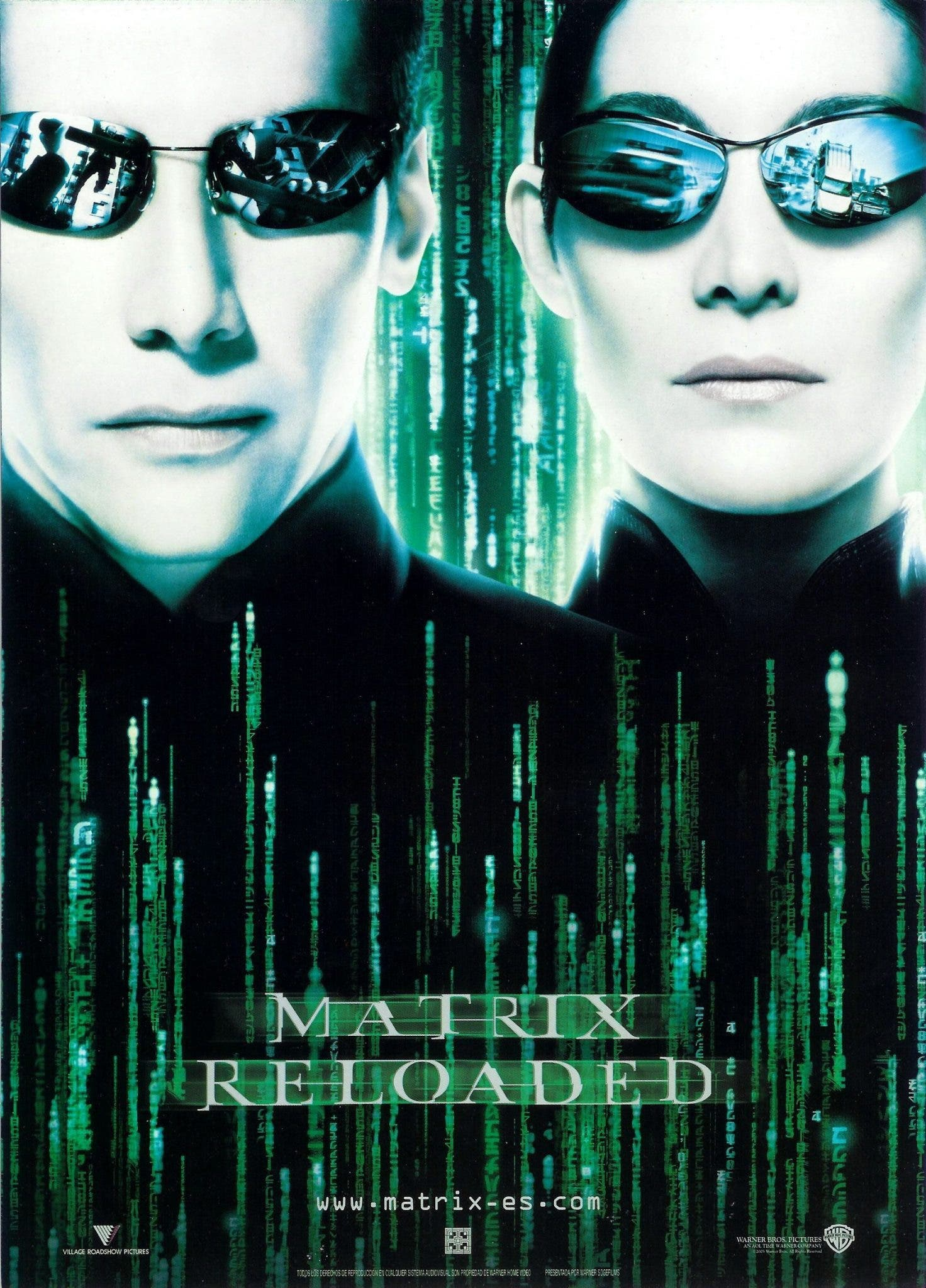 Poster de 'Matrix Reloaded'