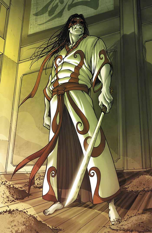 Gorgon (Tomi Shishido) en Marvel Comics