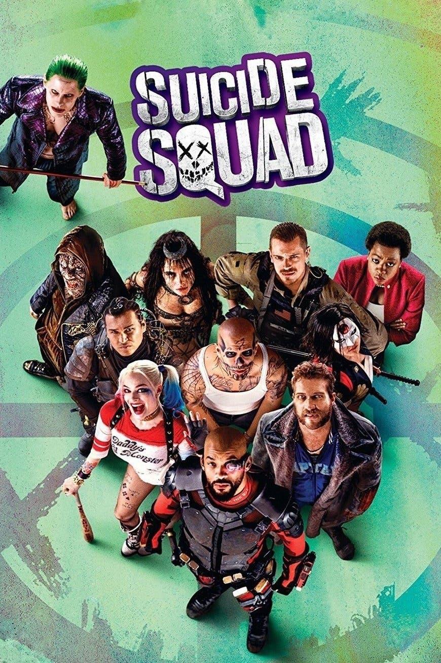 Poster de 'Escuadrón Suicida'