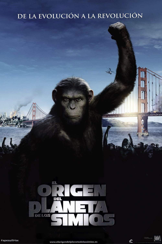 Poster de 'El origen del planeta de los simios'