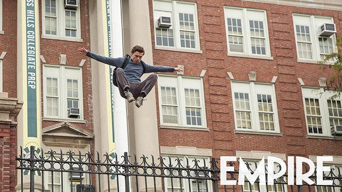 Espectacular imagen de Peter Parker en 'Spider-Man: Homecoming'