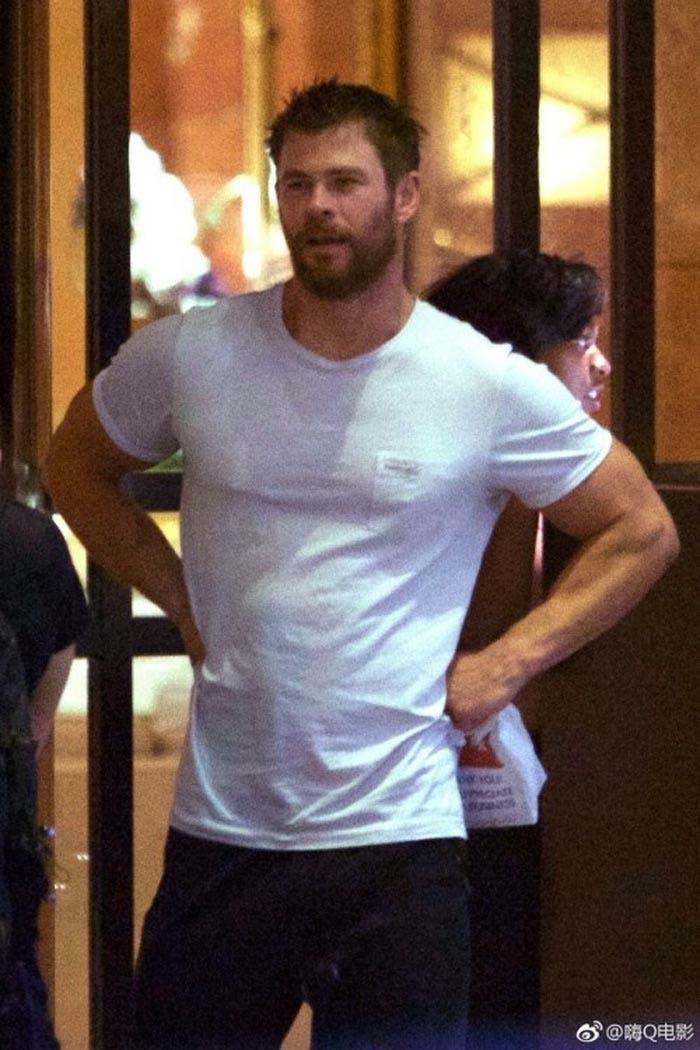 Primeras imágenes de Thor en el rodaje de 'Vengadores: Infinity War'