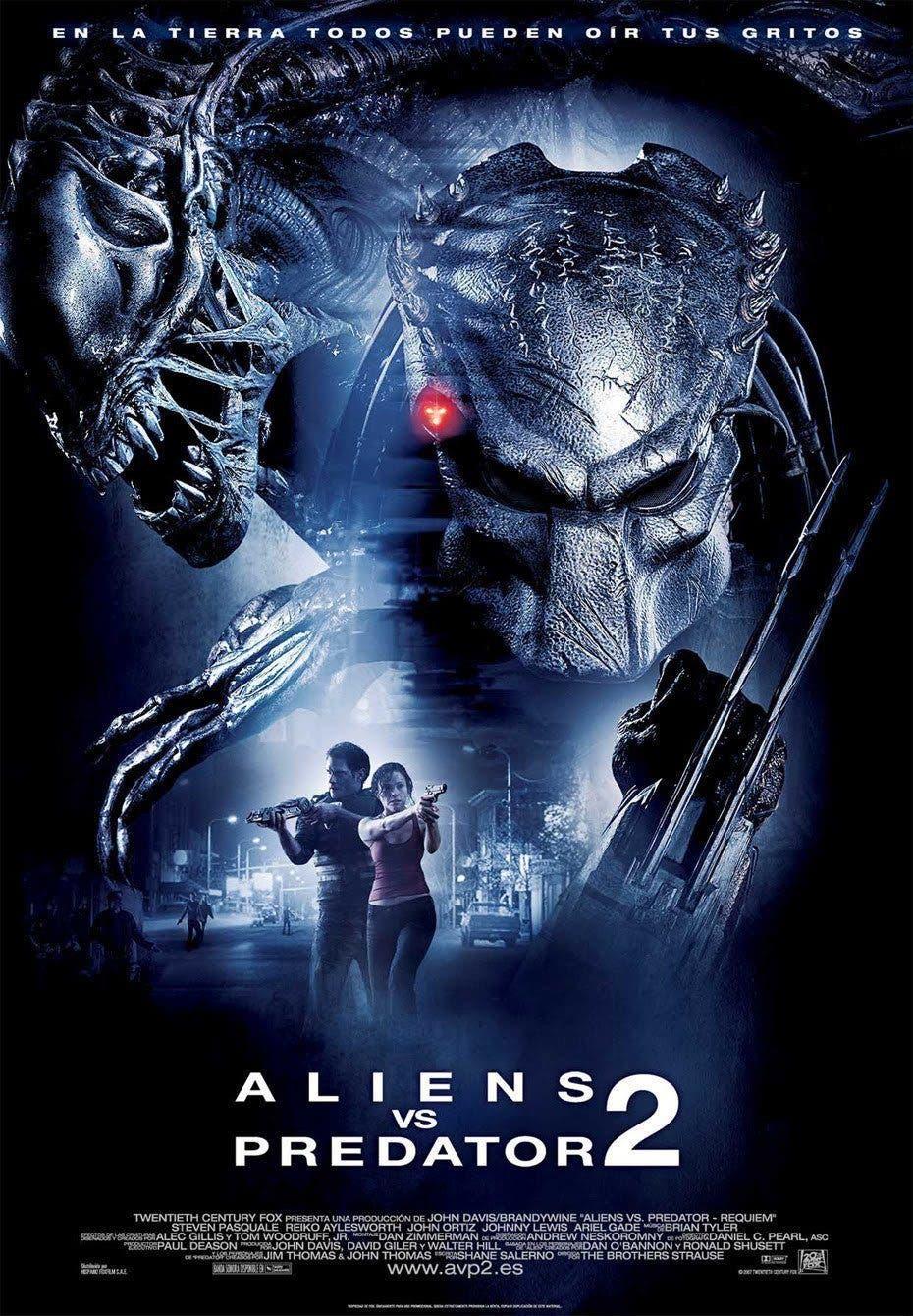 Poster de 'Aliens vs. Predator 2'