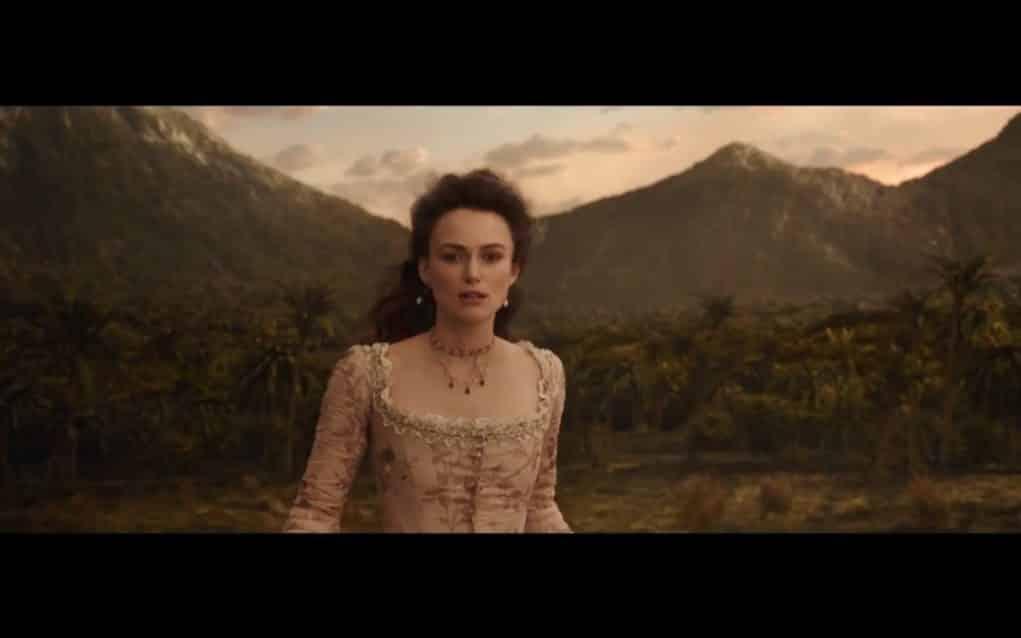 Keira Knightley en 'Piratas del Caribe: La Venganza de Salazar'