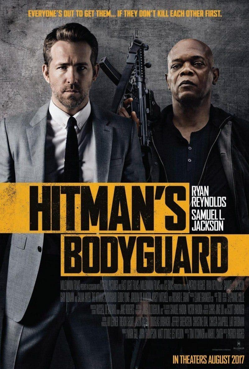 Poster de 'The Hitman's Bodyguard'