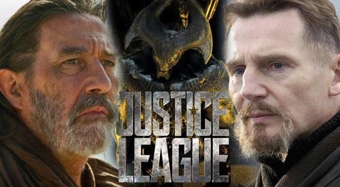 Liam Neeson ayudó a interpretar al villano de la 'Liga de la Justicia'