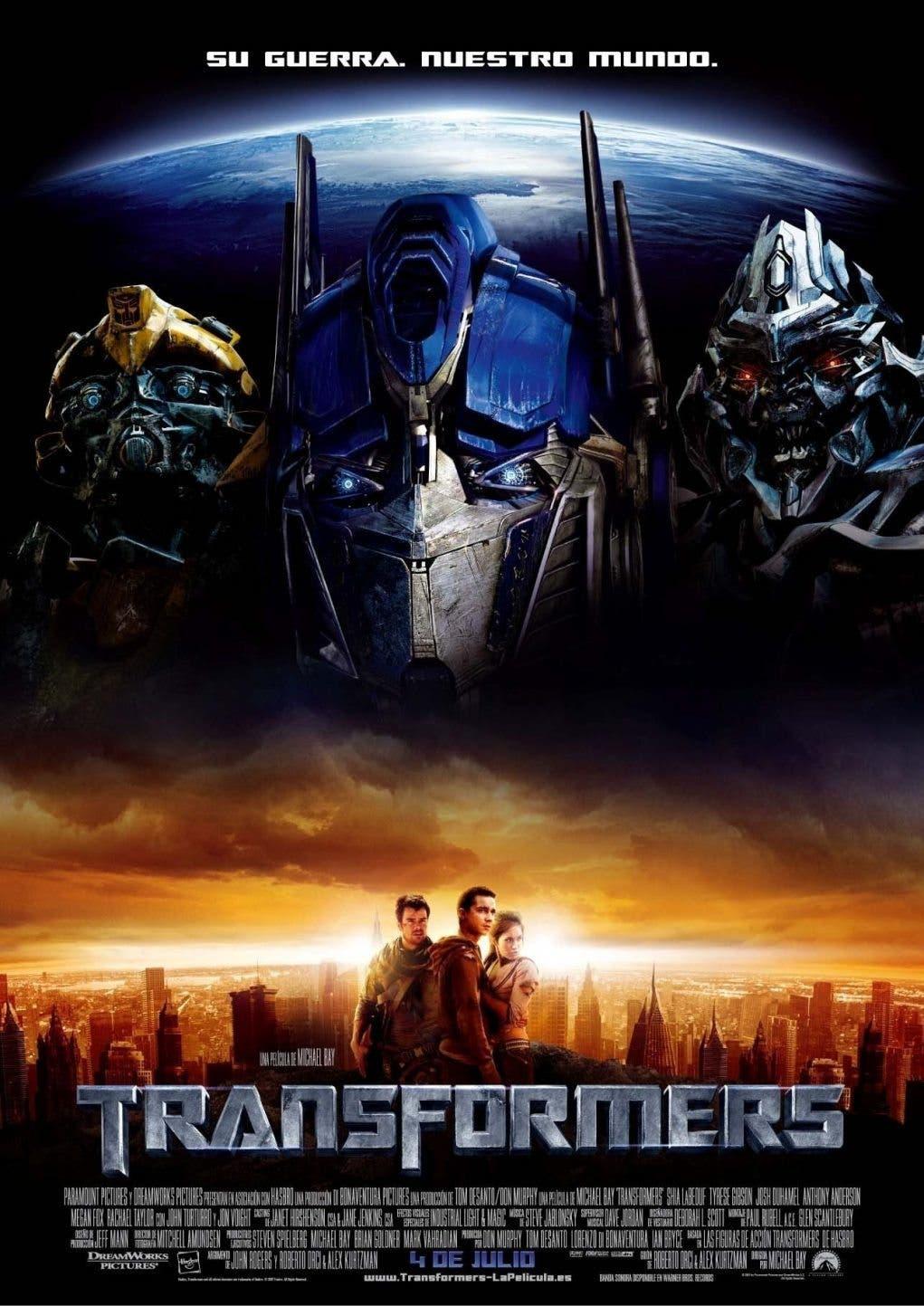 Poster de 'Transformers'
