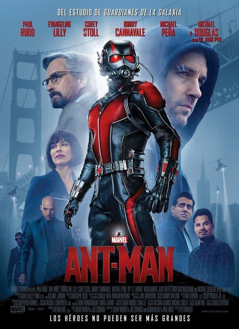 EL CAMINO HACIA VENGADORES: INFINITY WAR: Ant-Man (2015)