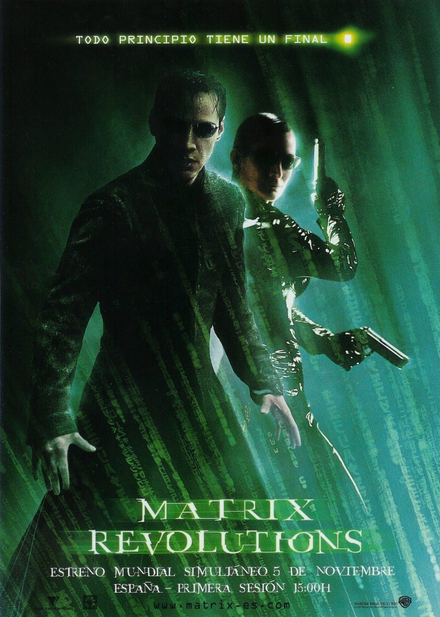 Poster de 'Matrix Revolutions'