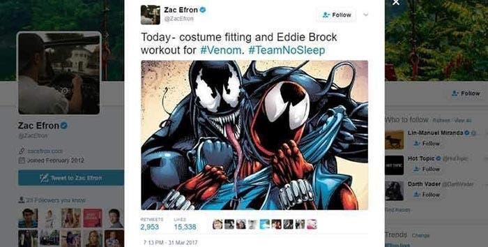 La película de 'Venom' podría haber encontrado actor protagonista