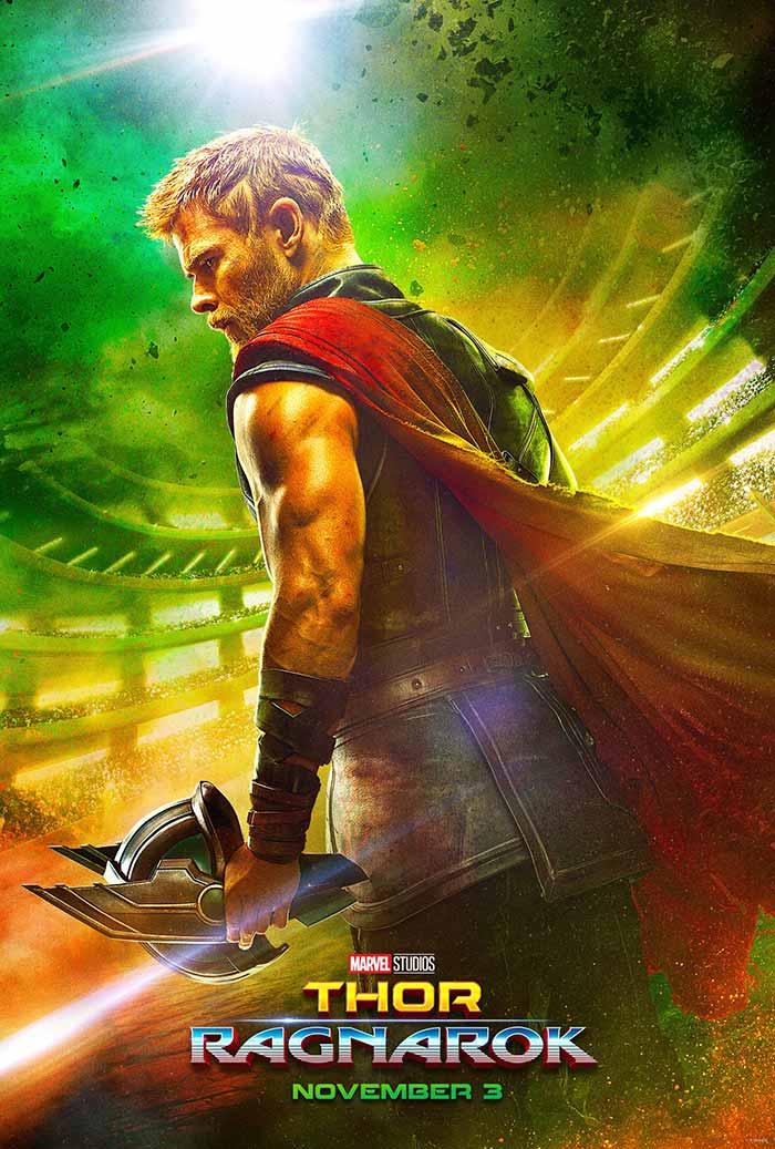 Poster Thor: Ragnarok trailer