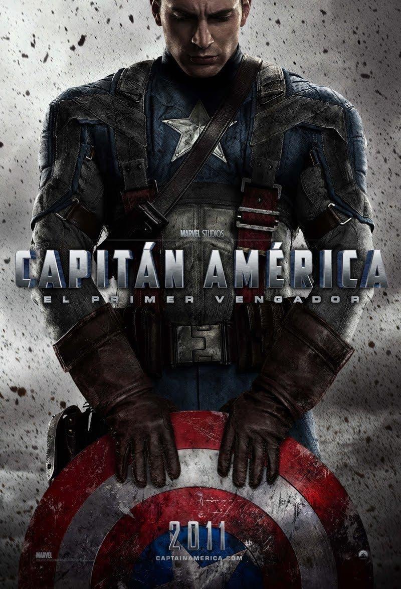 Poster de 'Capitán América: El primer vengador'