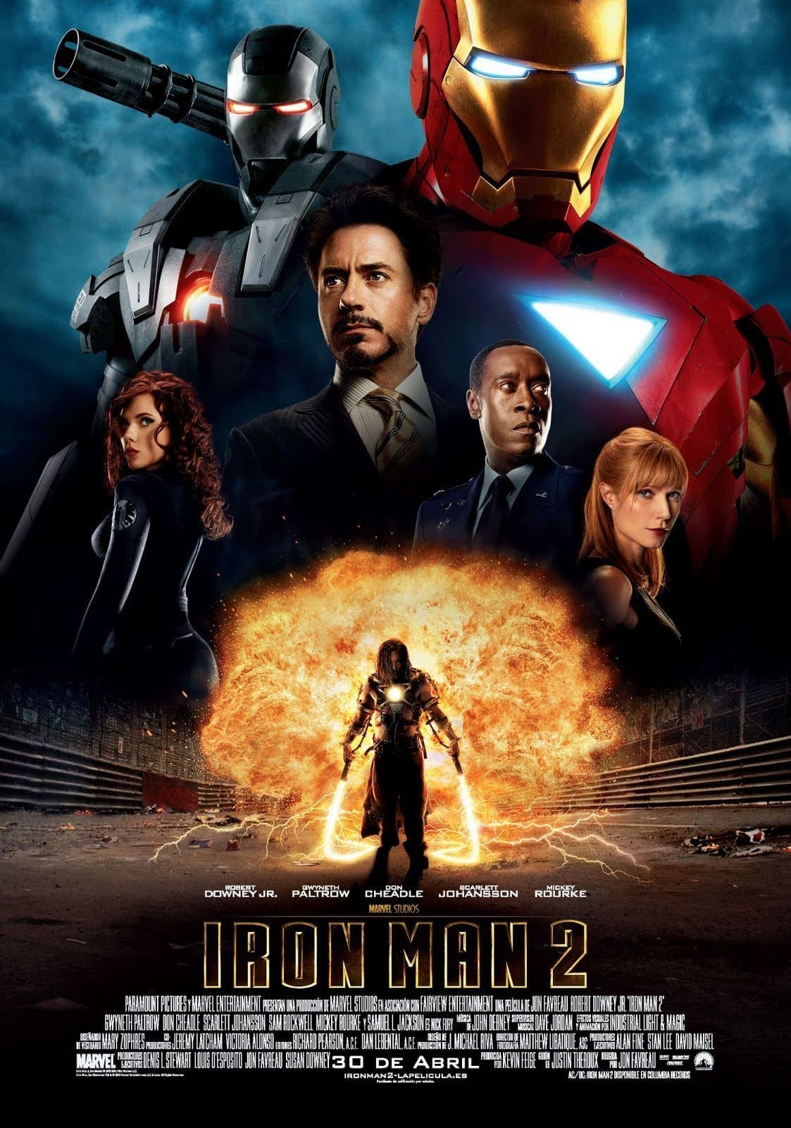 Poster de 'Iron Man 2'