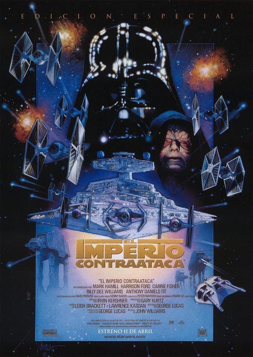 Poster de 'La guerra de las galaxias. Episodio V: El imperio contraataca'