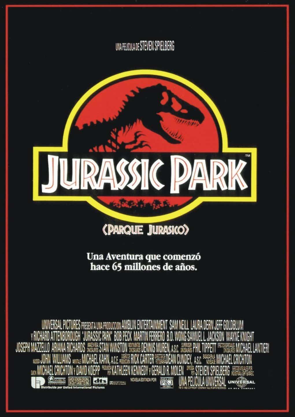 Poster de 'Parque Jurásico'