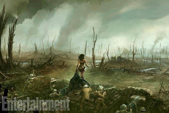 'Wonder Woman': Espectacular concept art exclusivo de EW