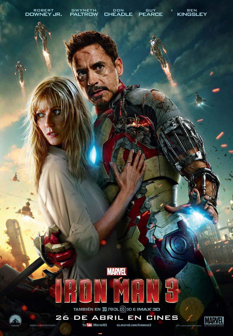 Poster de Iron Man 3