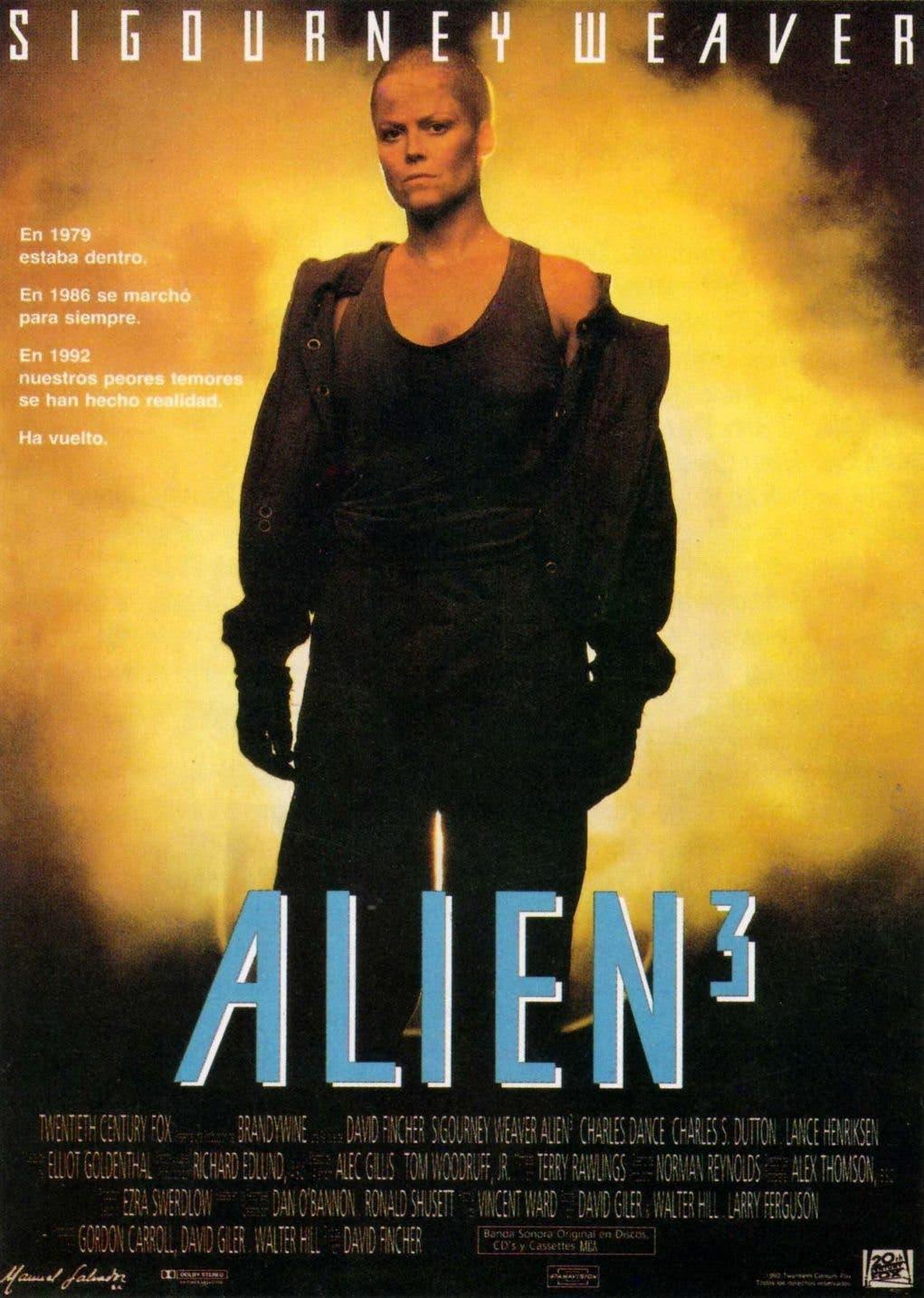 Poster de 'Alien³'