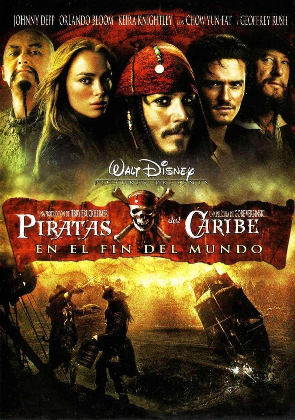 Poster de 'Piratas del Caribe: En el fin del mundo'