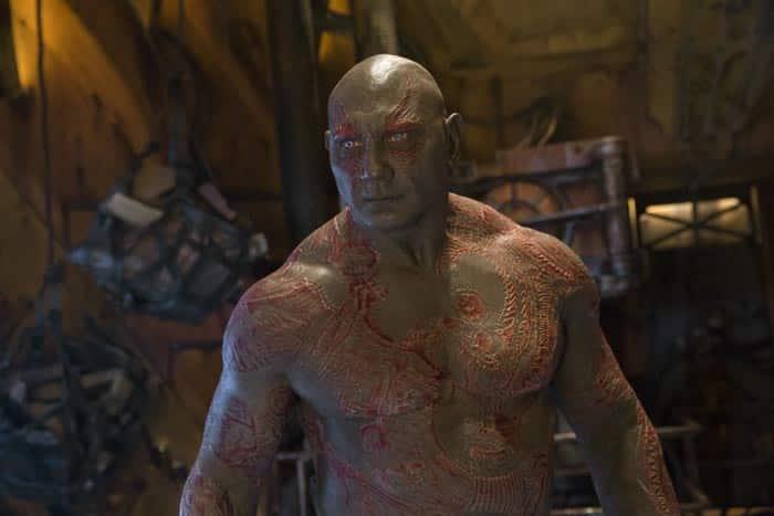 Drax - Dave Batista (Guardianes de la Galaxia Vol. 2)