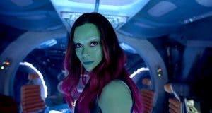 Gamora Zoe Saldana (Guardianes de la Galaxia Vol. 2)