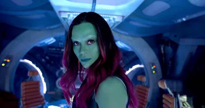 Gamora - Vengadores: Infinity War