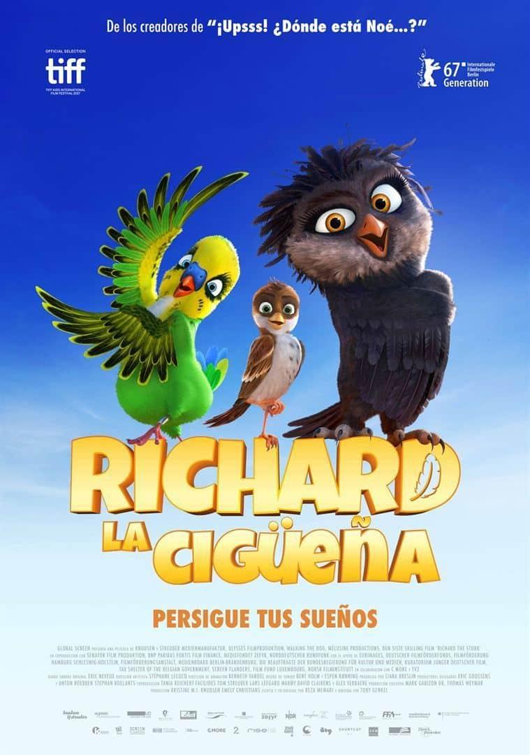 Poster de 'Richard, la cigüeña'