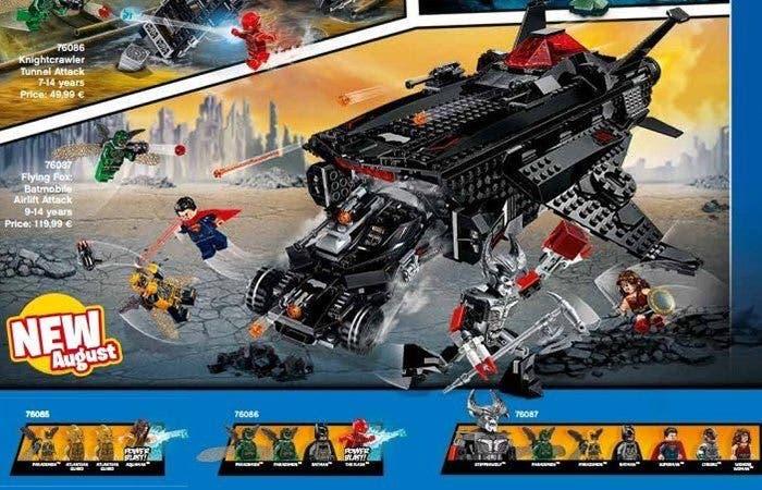 LEGO revela el aspecto de Steppenwolf en la 'Liga de la Justicia'