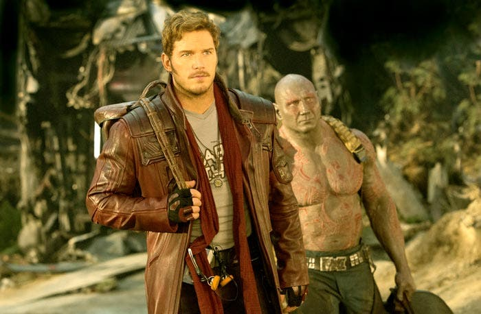Star Lord Chris Pratt Guardianes de la galaxia 2