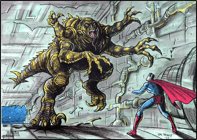 Superman Reborn, por Jonathan Lemkin