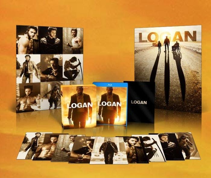 Blu-ray de 'Logan' (Edición Limitada)
