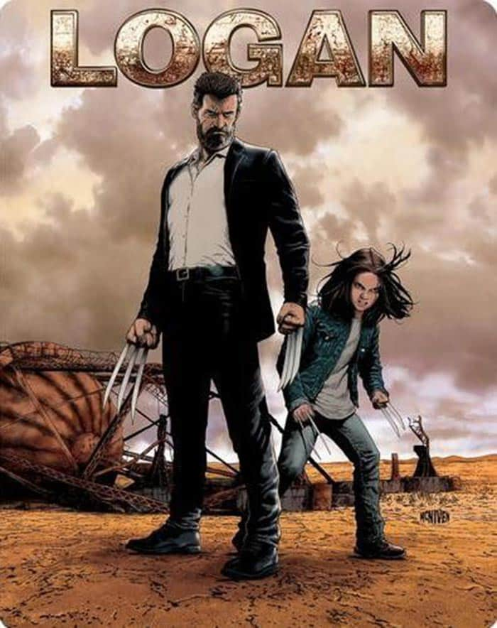 Blu-ray de 'Logan' (steelbook)