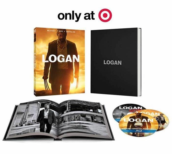Blu-ray de 'Logan' (target exclusive)