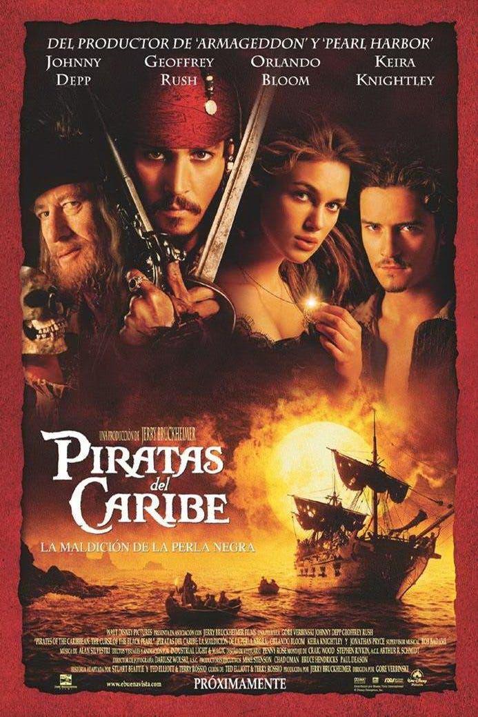 Piratas del Caribe: La maldición de la Perla Negra (2003) | 11 grandes películas en los Estrenos Netflix Septiembre 2018