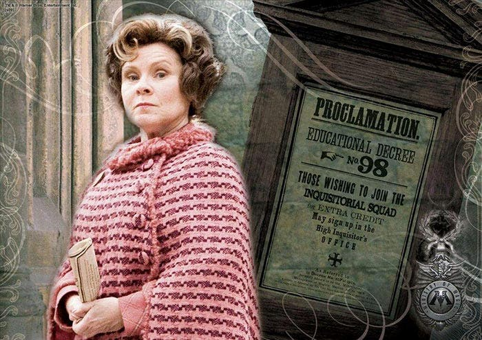 Dolores Umbridge (películas y series)