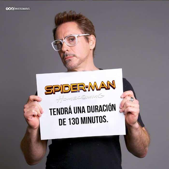 Revelada la duración de 'Spider-Man: Homecoming'