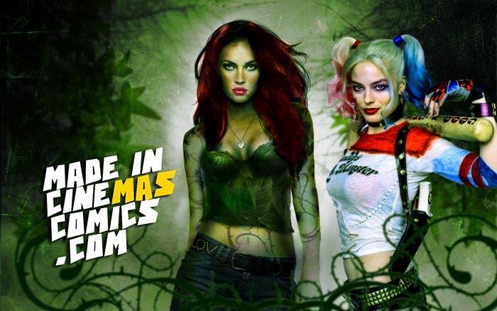 Megan Fox y Margot Robbie juntas como Hiedra Venenosa y Harley Quinn