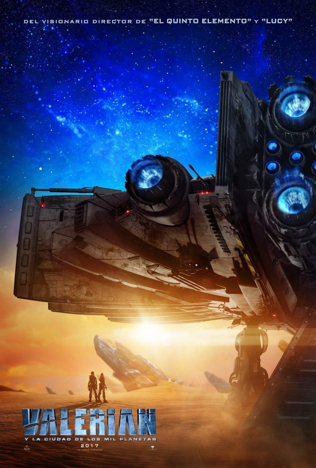 Poster de 'Valerian y la ciudad de los mil planetas'