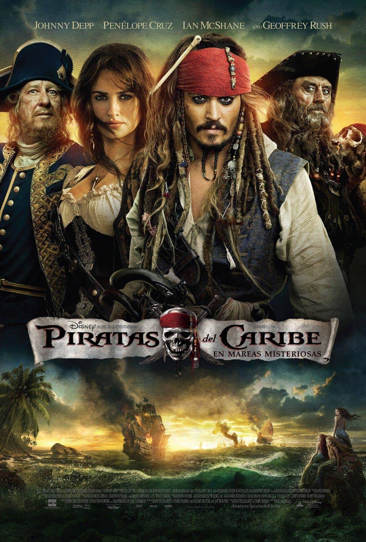 Poster de 'Piratas del Caribe: En mareas misteriosas'