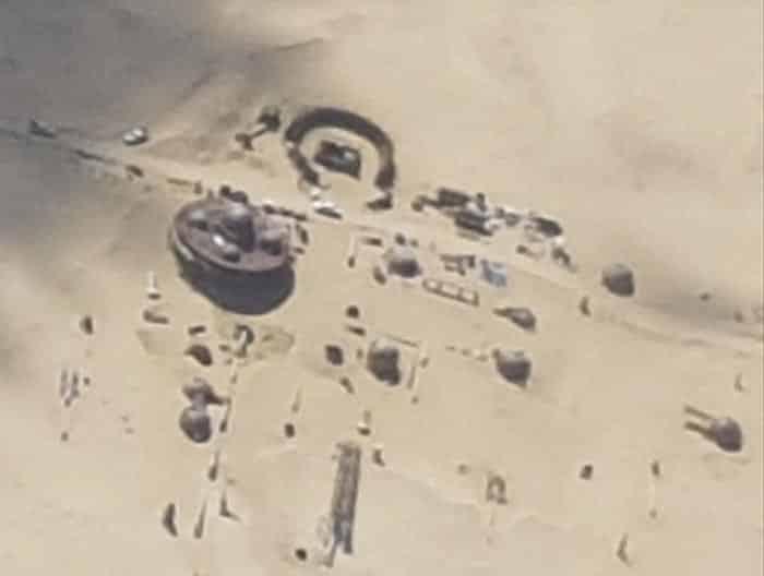 'Han Solo': Primera imagen del set de Star Wars en Fuerteventura