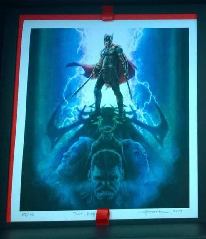 Impresionante y oscuro concept art de Hela en 'Thor: Ragnarok'