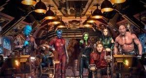 imagen de grupo de Guardianes de la galaxia vol 2