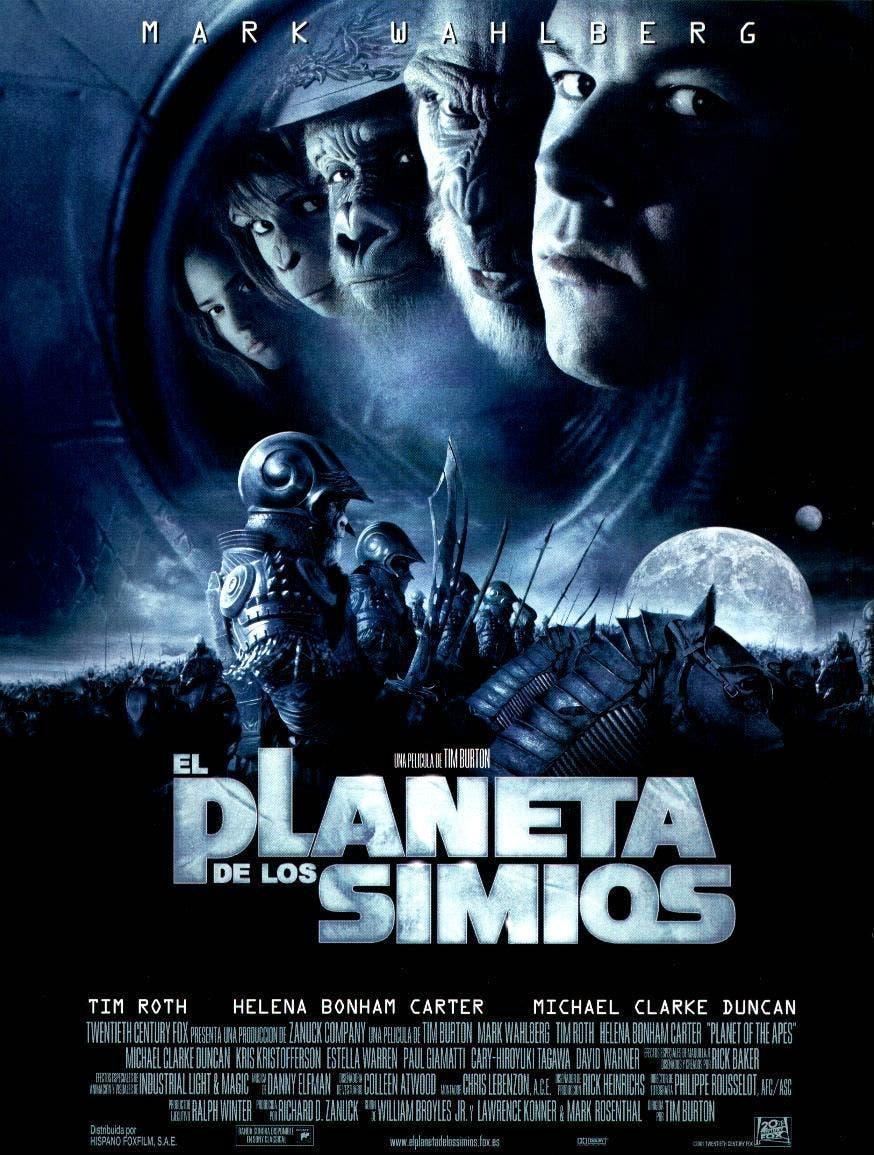 Poster de 'El planeta de los simios'