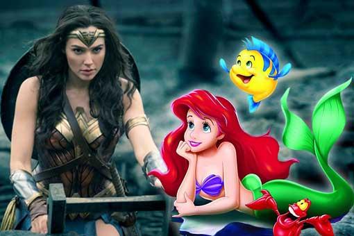 Wonder Woman la Sirenita de Disney