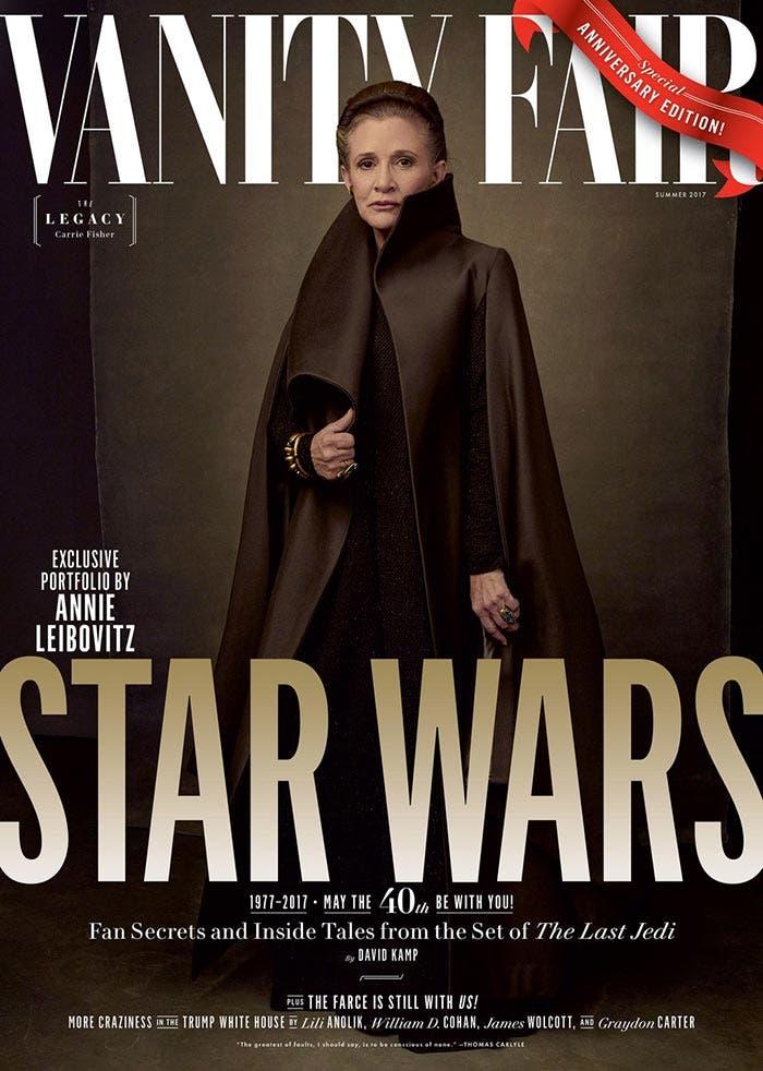 'Star Wars: Los Últimos Jedi': Primeras imágenes de Kylo Ren, Leia y más