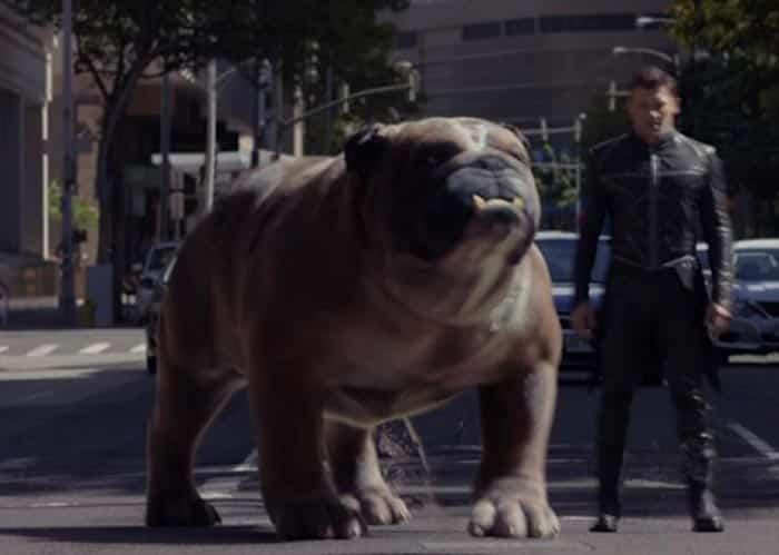 Primera imagen de Mandíbulas (Lockjaw) en la serie de 'Inhumanos'